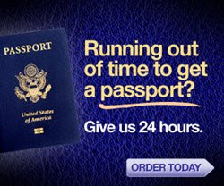 Travel Visas For Any Country · 24 To 48 Hour Passport Service