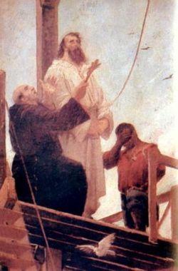 Martyrdom of Tiradentes by Aurélio de Figueiredo.