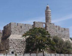 Tower of David in Jerusalem Israel