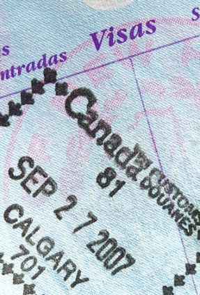 Canadian Entrance Stamp in US Passport