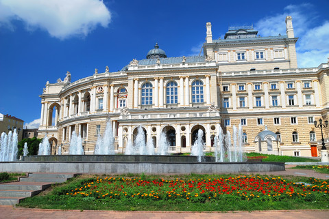 Opera House in Odessa Ukraine