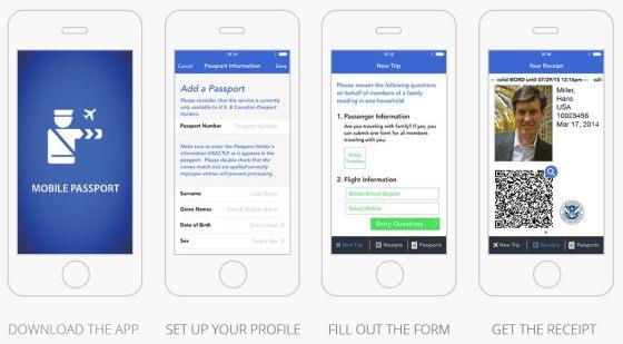Mobile Passport App in 4 Steps