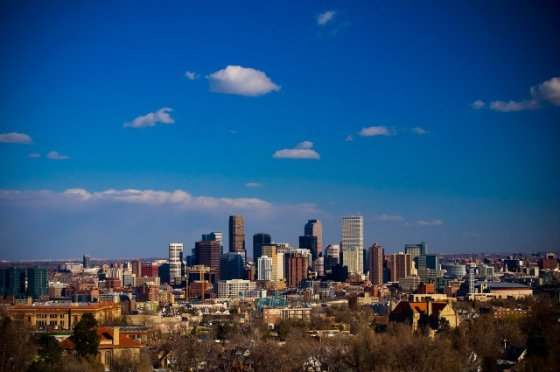 Denver Colorado Skyline