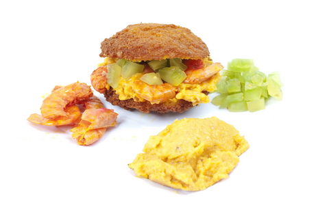 Acaraje is a favorite food of Bahia in Brazil