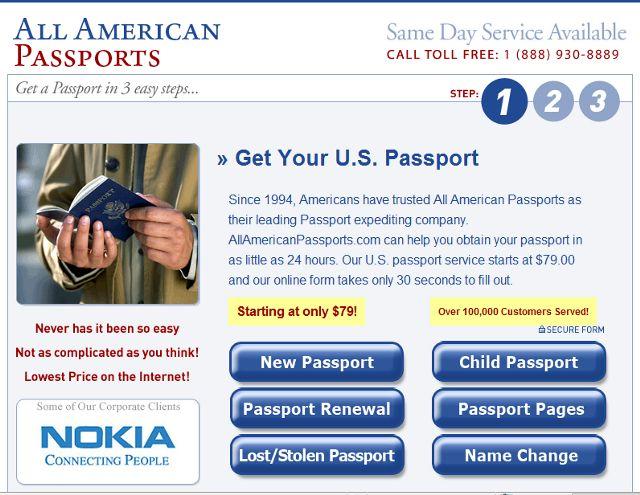 All American Passports