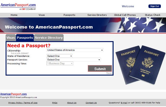 American Passport Express Expediting Service