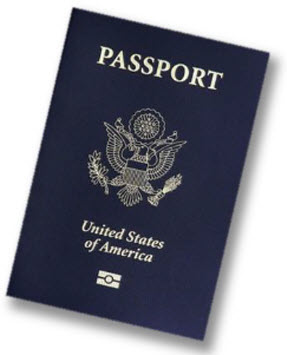 American passport book