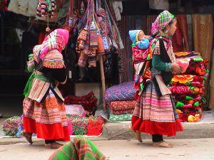 Bac Ha Market Vietnam