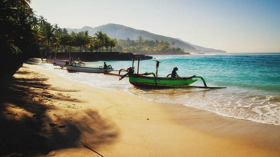 Bali Beach Indonesia