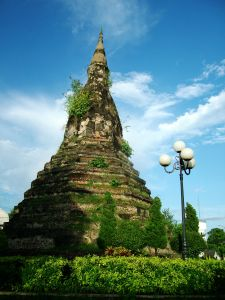 Black Pagoda in Vientiane Laos
