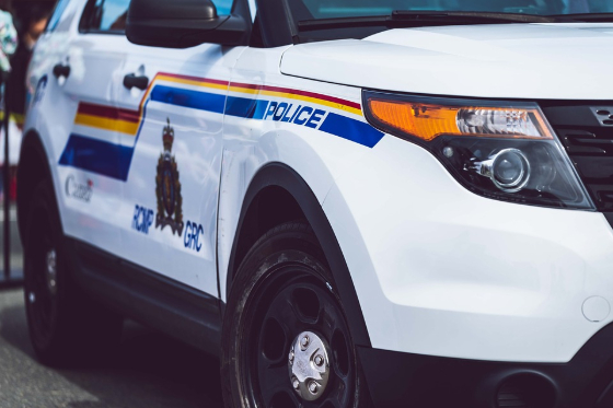 canadian mounted police car
