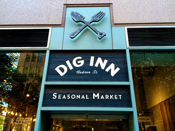 Dig Inn Seasonal Market at 350 Hudson St, New York, NY