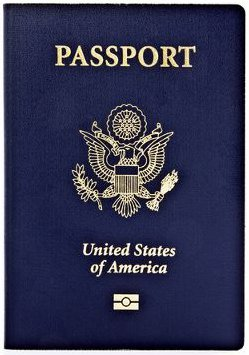 Passport Book with RFID Chip