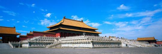 Forbidden City of Beijing China