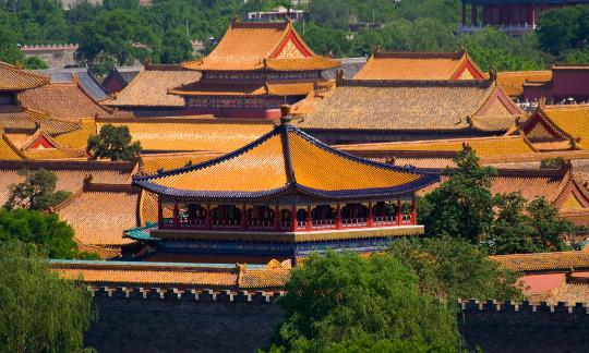 Forbidden City, Emperor's Palace, Beijing, China