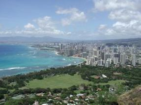 Honolulu Hawaii cityscape
