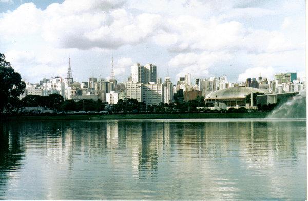 Ibirapuera Park in Sao Paulo Brazil