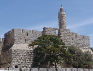 Tower of David in Jerusalem Israel