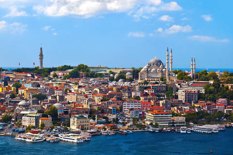 Photo of the city of Istanbul Turkey