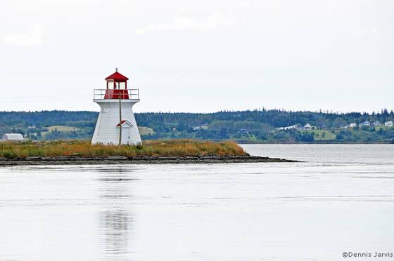 Lighthouse at Cape Breton, Nova Scotia, Canada