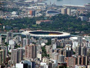 Maracana Stadium in Rio de Janeiro Brazil