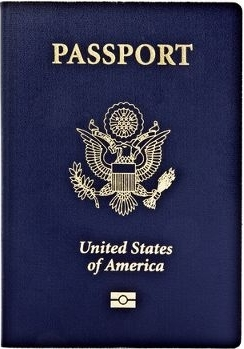 Apply for a new passport at any county passport office.