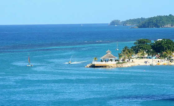 Tropical holiday at Ocho Rios, Jamaica