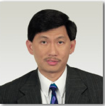 Passport photo of male.