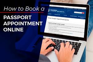 How to Book a Passport Appointment Online