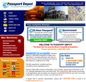Passport Depot Expediting Service