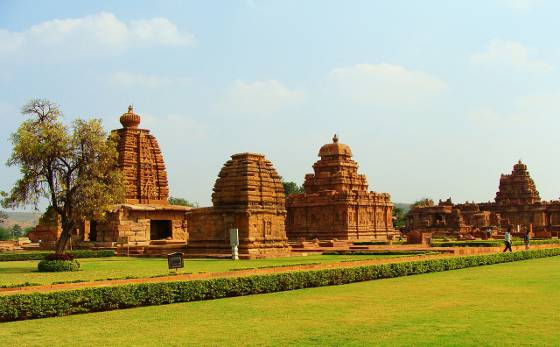 Pattadakal Monuments in Karnataka India