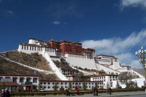 Potala Palace in Lhasa Tibet