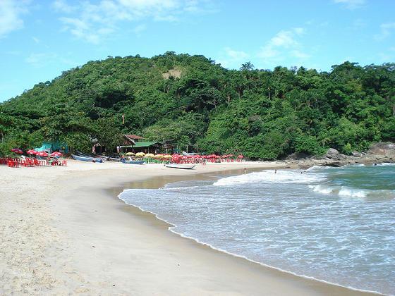 Praia do Meio on Trindade Island Brazil.