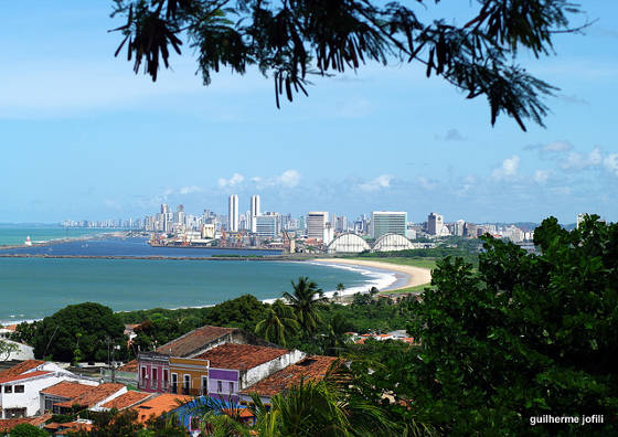 City of Recife as seen from Olinda.