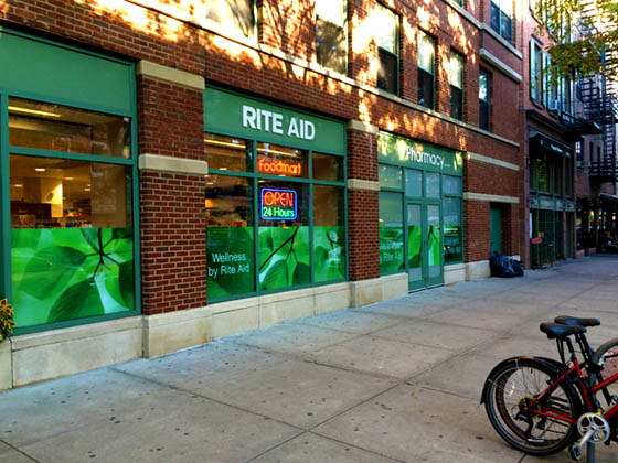 Get passport photos at Rite Aid at 534 Hudson Street New York City