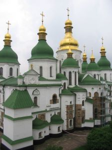 St Sofia Cathedral in Kiev Ukraine