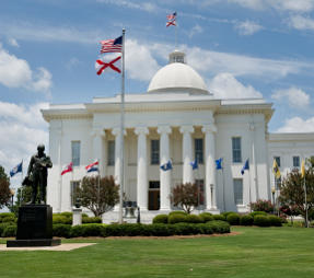 State Capital Montgomery Alabama