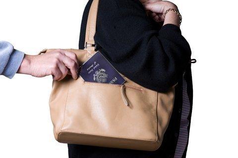 Stolen Passport Book