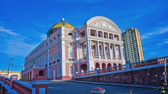 Teatro Amazonas in Manaus.