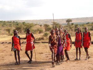 Traditional Masai Dance Kenya