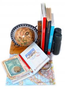 Travel Passport and Foreign Currency