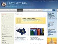 US Department of State Passport Service website.