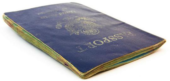Used United States Passport