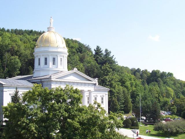 Vermont Capitol Building in Montpelier