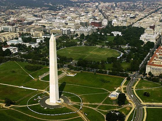 Washington DC Aearial View