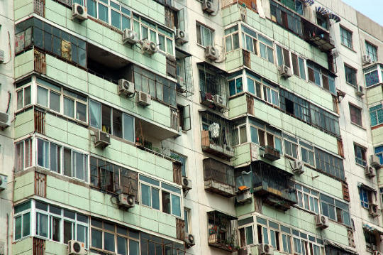 Apartment building in Beijing China