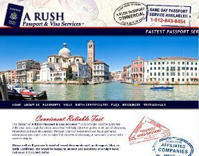 A Rush Passport and Visa Service
