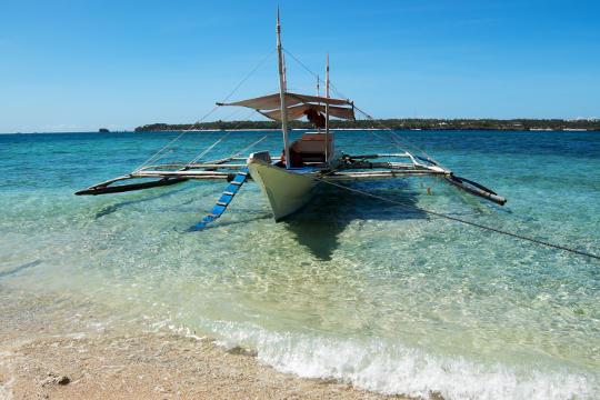 Banca Boat Boracay Island