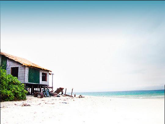Beach House at Sunset Point, Neil Island, Andaman & Nicobar Island, India