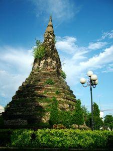 Black Pagoda in Vientiane Laos